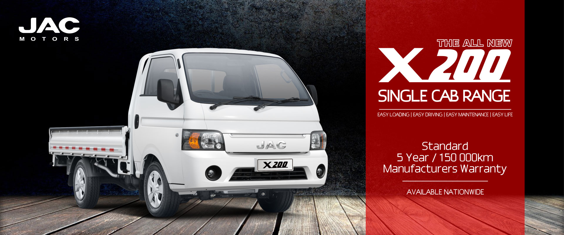 JAC X200 Single Cab
